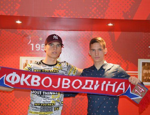 Браћа Богдановић потписали професионалне уговоре