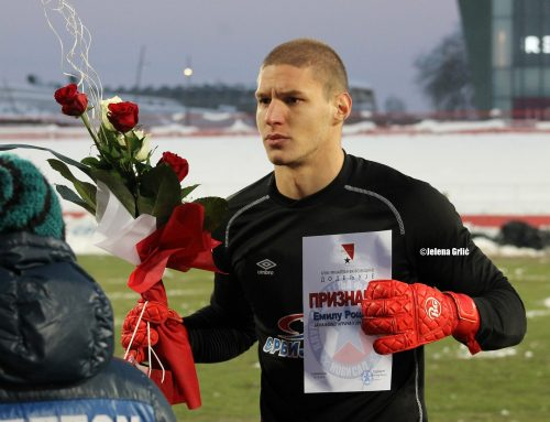 Emil Rockov again the best player of the season in Vojvodina