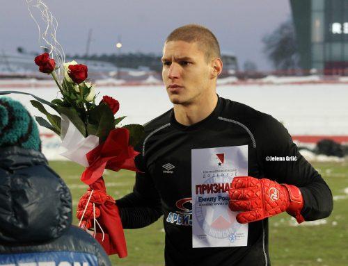 Емил Роцков поново најбољи играч Војводине у сезони