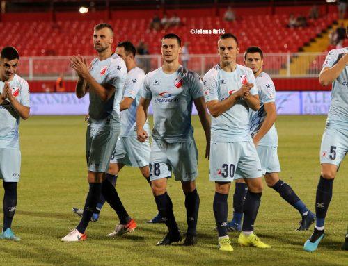 Voša at the celebration regarding 90th birthday of FK Borac Bobota