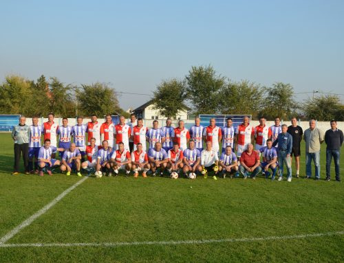 Veterans of Vojvodina at the birthday of FK Jadran from Golubinci