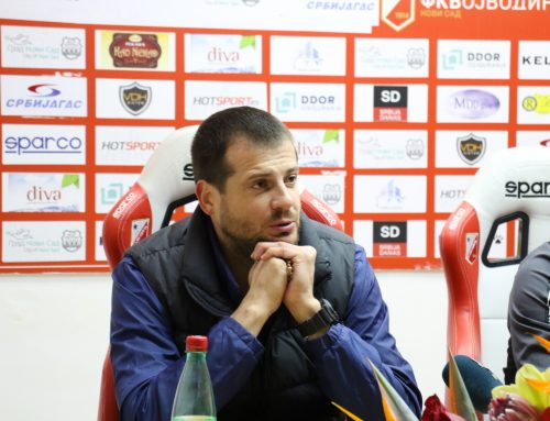 Lalatović: We deserve to be runner up in Serbia