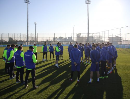 Voša did its first training in Belek