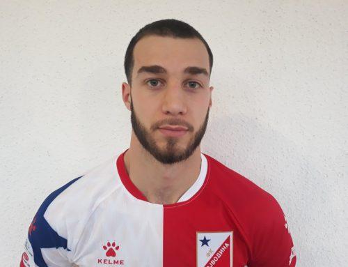 Lazar Stojsavljević signed