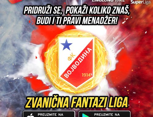 Vojvodina fans, take part in the official Fantasy game of the Serbian Super League!