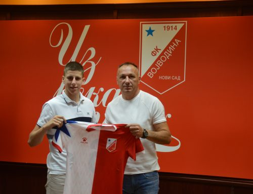 Vladimir Miletić is a new member of Vojvodina