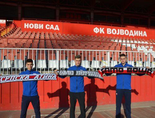 Мартинкевич, Луковић и Видаковић потписали професионалне уговоре
