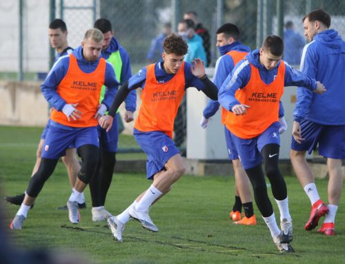 Voša continues with strong work, tomorrow the match against Zorya