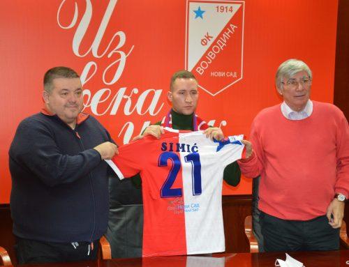 Вељко Симић потписао за Војводину