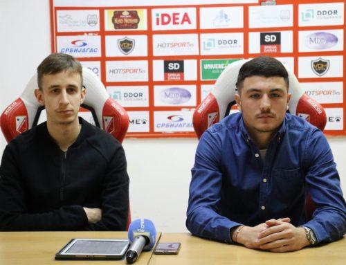 БЈЕКОВИЋ и НОВЕВСКИ: Веома је битно остварити победу