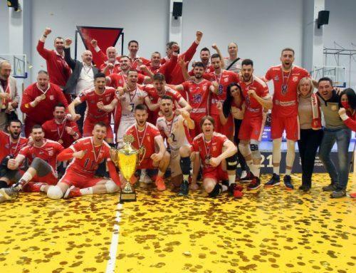 Одбојкашки клуб Војводина освојио 18. титулу шампиона државе!