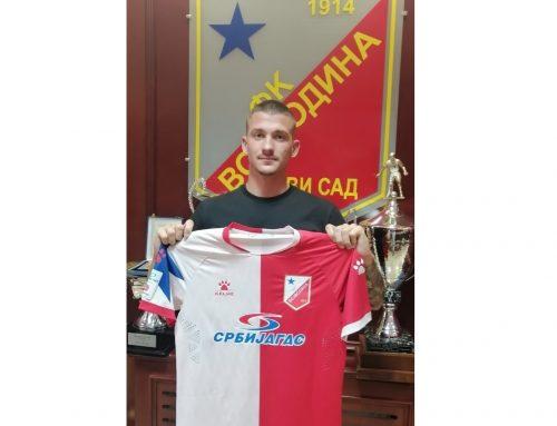 Лука Цуцин нови фудбалер Војводине