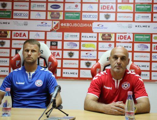 Жоао Луис Мартинс: Војводина је велики клуб, поносни смо што смо овде