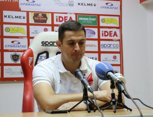 Ђорђевић: Тежак је ритам, али подићи ћемо се и идемо даље