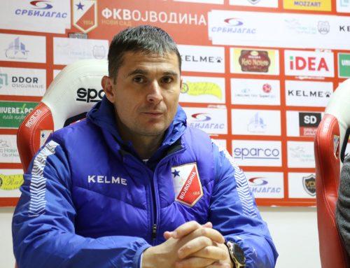 Ђорђевић: Друго полувреме најбоље од почетка сезоне